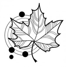 Штамп Mini Fun Maple Leaf (30247)