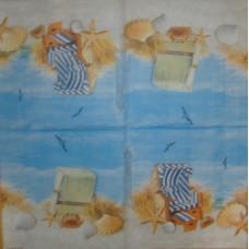 Салфетка Знойный день у моря (377)