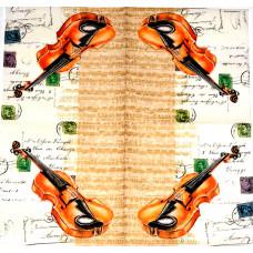 Салфетка Гастроли скрипача (381)