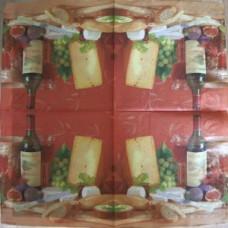 Салфетка Вино и сыр (422)