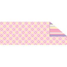 Калька Beby розовая, мотив ИГРУШКИ КЛЕТКА МЕЛКАЯ, 115г(UR-53364605R)