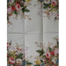 Салфетка-полотенце Угловые букеты роз (465)