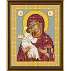 Владимирская Божия Матерь (С9045)