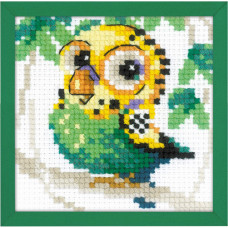 Набор для вышивания крестом Риолис Волнистый попугайчик (1785)