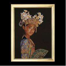 Индонезийская танцовщица (GOK948)