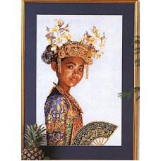 Индонезийская танцовщица (GOK947)