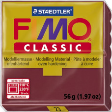Полимерная глина Fimo Classic Bordeaux Red (8000-23N)