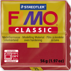 Полимерная глина Fimo Classic Carmine Red (8000-29N)