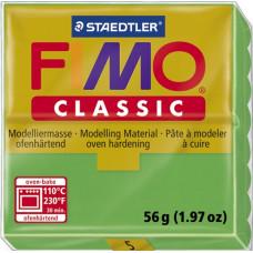 Полимерная глина Fimo Classic Green (8000-5)