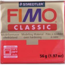 Полимерная глина Fimo Classic Red (8000-2N)