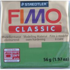 Полимерная глина Fimo Classic Leaf green (8000-57)