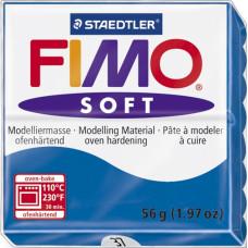 Полимерная глина Fimo Soft, Pacific Blue (8020-37)