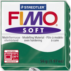 Полимерная глина Fimo Soft, Emerald (8020-56)