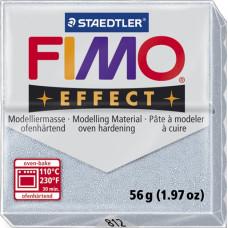 Полимерная глина Fimo Effect Glitter Silver (8020-81)