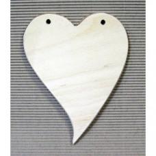 Доска декоративная Сердечко (AN-AK-ДД-16-03)