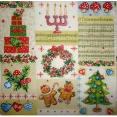 Салфетка В ожидании Рождества (535)