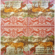 Салфетка Герда и северный олень (550)