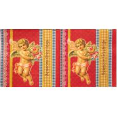 Салфетка Ангелочек цветов (594)