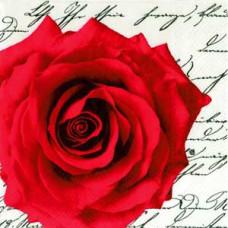 Салфетка Роза и письмо (620)