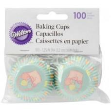 Бумажные формы для кексов-мини, Easter Garden (41592021)