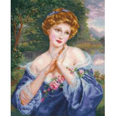 Набор для вышивания крестом Алиса Вечерние грезы (4-10)