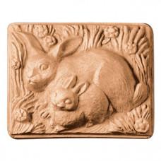 Форма для мыла Кролики (2RAB1137)