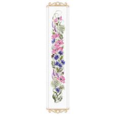 Набор для вышивания крестом Риолис Цветочное ассорти (1866)
