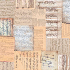 Бумага Воспоминания, мотив 106 (UR-700000106R) (120)