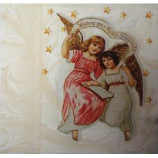 Салфетка Ангелы среди звезд (681)