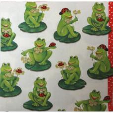 Салфетка Веселые лягушки (685)