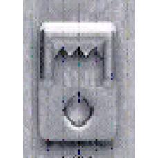 Подвеска зубчатая -1,5см -1401N2 (ПД-032)