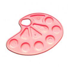 Палитра для рисования, розовая