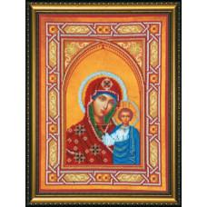 Икона Богородица Казанская (AB-074)