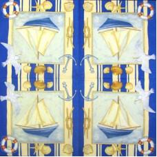 Салфетка Морская картина (711)
