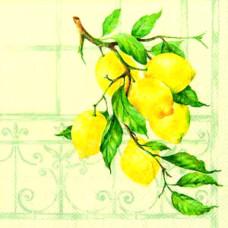 Салфетка Ветвь лимонного дерева (733)