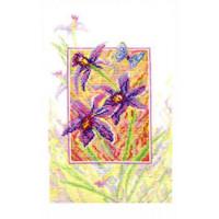 Набор для вышивания крестиком Чарівна мить Орхидеи (179)