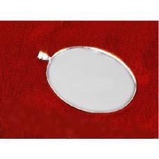 Основа для кулона, серебро (987904)