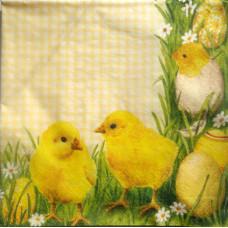 Салфетка Весенние цыплята (758)