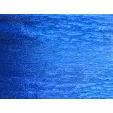 Гофробумага металлик, синяя, 50 г/м.кв. (703007)