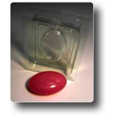 Форма для мыла 3D Овал (2 части)