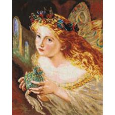 Набор для вышивания крестом Алиса Фея (4-08)