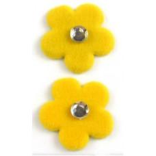 Брадсы Цветы Желтые (979096 - D237-V-YLW), эконом-пакет