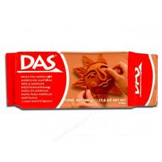 Глина для моделирования DAS, терракотовая, 500г (387100)