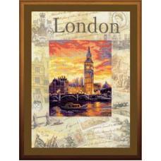Набор для вышивания крестом Риолис Города мира. Лондон (рт-0019)