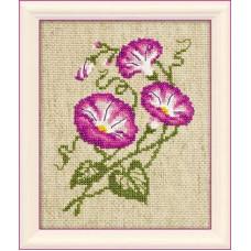 Набор для вышивания бисером Риолис Полевые вьюнки (1251)