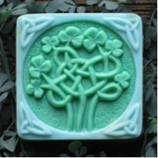 Форма для мыла Кельтский клевер (CELTCLOV1329)*