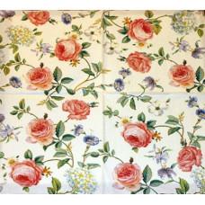 Салфетка Плетение викторианских роз (836)