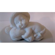 Молд силиконовый Малыш на подушке (39)