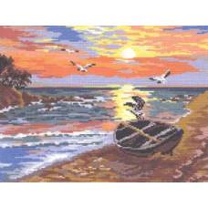 Закат на море (48-03)