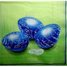 Салфетка Голубые крашенки (930)